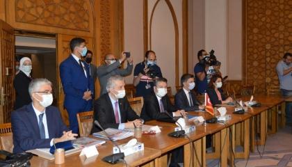 بالصور.. انطلاق المحادثات الاستكشافية بين مصر وتركيا في القاهرة