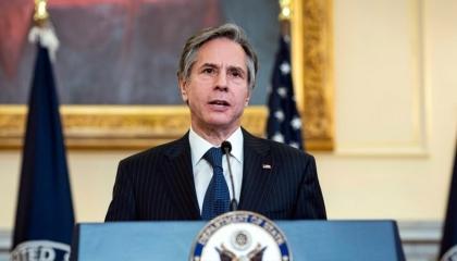 وزير الخارجية الأمريكية يحث روسيا على وقف الخطوات العدوانية ضد أوكرانيا