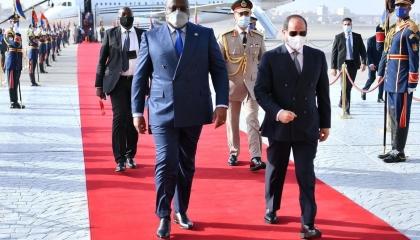السيسي: مصر لن تقبل المساس بأمنها المائي