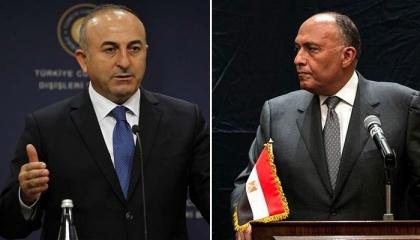 من السعودية.. وزير خارجية تركيا يهاتف نظيره المصري لبحث أزمة فلسطين