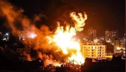 زوارق الاحتلال الإسرائيلي تقصف غزة.. ووزير الخارجية المصري يتدخل