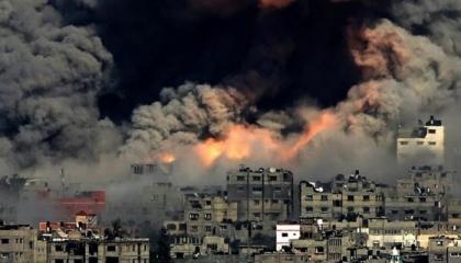 شهيدان وعدد من الجرحى في غارة إسرائيلية على منزل بمخيم البريج وسط قطاع غزة