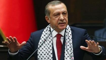 أردوغان: إسرائيل دولة إرهابية وبايدن يدعمها عسكريًا