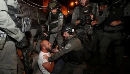 استشهاد فلسطيني برصاص شرطة الاحتلال بعد إصابته 3 جنود إسرائيليين بسيارته