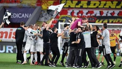 بشكتاش يحسم لقب الدوري التركي الممتاز على حساب جلطة سراي