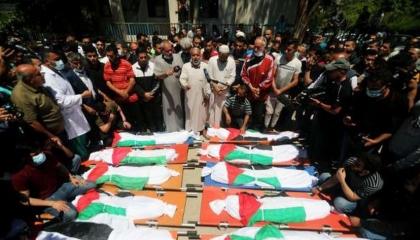 حصيلة القصف الإسرائيلي: 174 شهيدًا بينهم 47 طفلًا و29 سيدة و1200 جريح