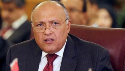 وزير الخارجية المصري: نسعى لتحقيق وقف دائم لإطلاق النار في فلسطين