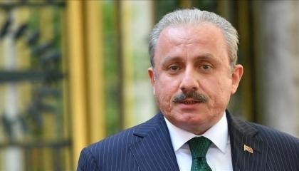 رئيس البرلمان التركي يبحث مع نظيره الجزائري الاعتداءات الإسرائيلية بفلسطين