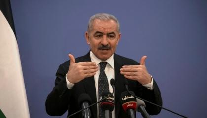 رئيس الوزراء الفلسطيني: نعمل مع الأشقاء المصريين لتأمين دخول المساعدات لغزة