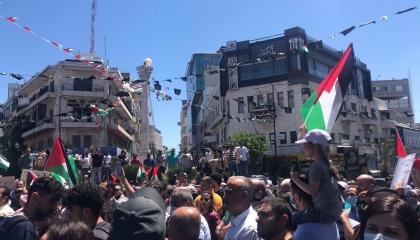 إضراب الكرامة.. إغلاق فلسطيني شامل تنديدًا بالعدوان الإسرائيلي (شاهد الصور)