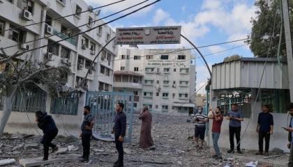 الاحتلال الإسرائيلي يقصف المختبر الوحيد لفحص «كورونا» في غزة