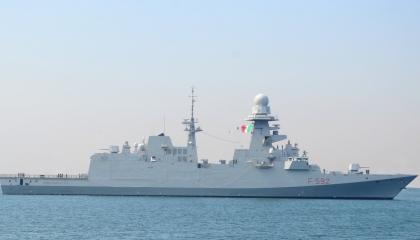 البحرية المصرية والإيطالية تنفذان تدريبات مشتركة بالبحر المتوسط