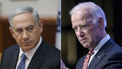 عبر الهاتف.. نتنياهو يبلغ بايدن برفضه وقف النار في غزة