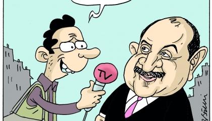 كاريكاتير: من يخالف حكومة أردوغان لا مكان له!