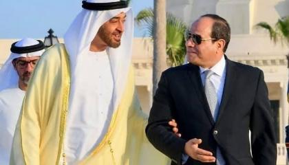 بن زايد يثني على الجهود المصرية في وقف النار بغزة خلال اتصال مع السيسي