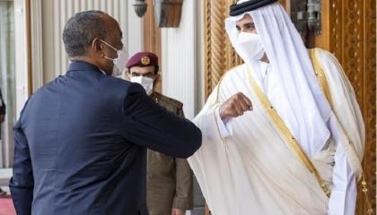 وزير الخارجية القطري يزور الخرطوم والدوحة ترغب في استثمار الطاقة الشمسية