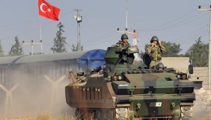 تركيا تقصف محيط قاعدة عسكرية روسية شمال حلب