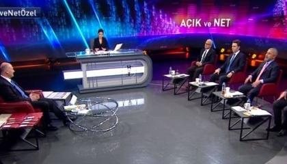 وزير داخلية تركيا يتكلم ساعتين ونصف مقابل 10دقائق لـ4محاورين بلقاء تلفزيوني