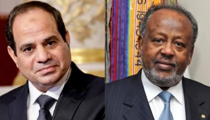 قمة مصرية جيبوتية لتعزيز التعاون الأمني والعسكري