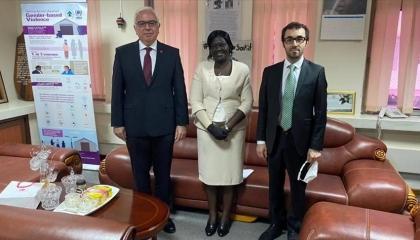 السفير التركي بجوبا يبحث سبل التعاون مع جنوب السودان
