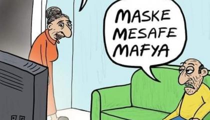كاريكاتير: زعيم المافيا نجم المشهد السياسي في تركيا