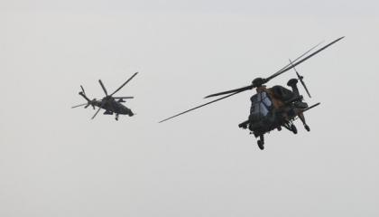 اختتام مناورات عسكرية بين  تركيا وأذربيجان وجمهورية شمال قبرص وقطر