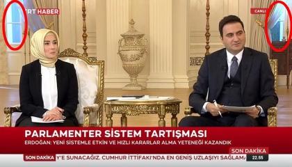 السوشيال ميديا تكشف بالدليل كذب إعلام أردوغان: لقاؤه بالأمس مسجل وليس حيًا