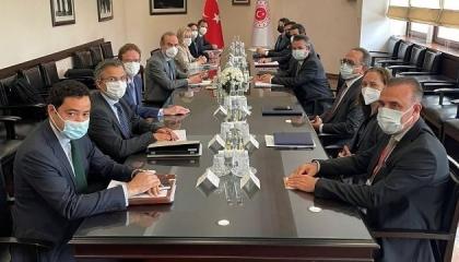 مشاورات تركية أوروبية حول القضايا الإقليمية في أنقرة