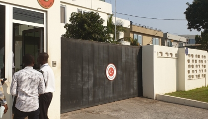 بعثة أنقرة الدبلوماسية لدى أكرا تتجسس على معارضين أتراك يقيمون في غانا