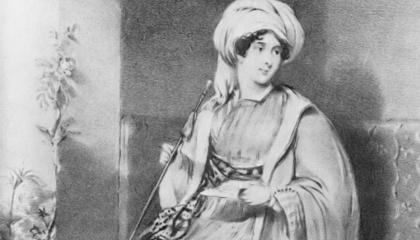 «الليدي ستانهوب».. جاسوسة إنجليزية حاربت المصريين في الشام