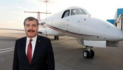 الصحة التركية تستأجر طائرة إسعاف من شركة قطرية مقابل 210 ملايين ليرة
