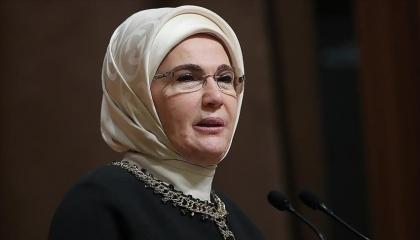 أمينة أردوغان تدين مقتل عائلة مسلمة في كندا
