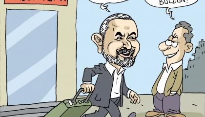 كاريكاتير: فنادق مجانية لعصابة «الحكومة التركية»