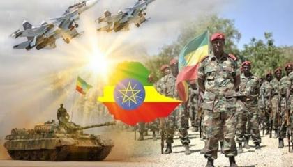 إثيوبيا تدفع بقوات عسكرية وعتاد بالقرب من معسكرات الجيش السوداني