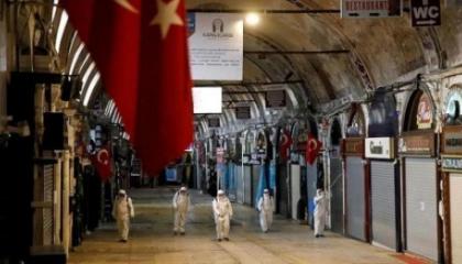 تركيا تسجل 6 آلاف و408 إصابات جديدة بكورونا.. و96 وفاة