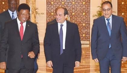 وزير الاستثمار التنزاني: مصر من أكبر الشركاء الاقتصاديين لبلادنا