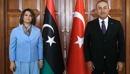 انقسام حاد في الحكومة الليبية بسبب زيارة الوفد التركي