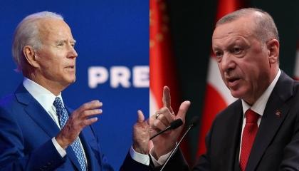 «بلومبرج» تحرض بايدن على اتخاذ قرارات جريئة تجاه انتهاكات أردوغان