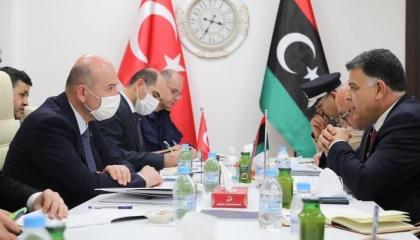 وزيرا داخلية ليبيا وتركيا يبحثان تطوير قدرات شرطة طرابلس