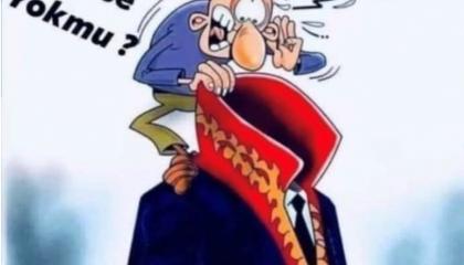 كاريكاتير: القضاء التركي دمية في قبضة أردوغان!
