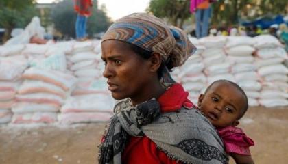 بسبب سوء التغذية.. 33 ألف طفل إثيوبي مهدد بالموت في إقليم تيجراي