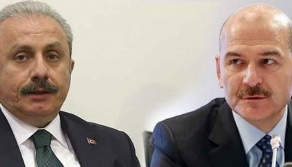 استمر لنصف ساعة.. اجتماع مغلق بين رئيس البرلمان التركي ووزير الداخلية!