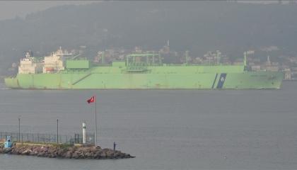 قادمة من الجزائر.. وصول سفينة للغاز المسال إلى تركيا