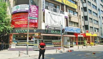 الشرطة التركية تحذف تسجيلات الكاميرات لمنفذ الهجوم على حزب الشعوب