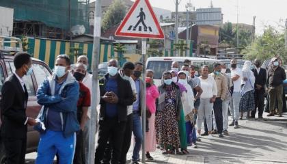 بالصور.. الإثيوبيون يصوتون في الانتخابات العامة السادسة