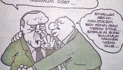 كاريكاتير: الشعب التركي يسخر من دعوة الشباب للزواج قبل الثلاثين