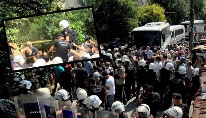 الشرطة التركية تضرب المتظاهرين السلميين بقنابل مسيلة للدموع