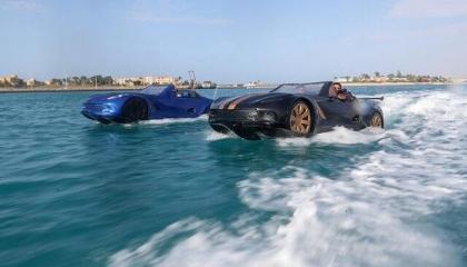 السيارات المصرية البرمائية تثير دهشة الأتراك على السوشيال ميديا