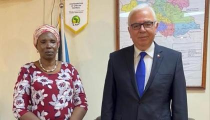 أنقرة توجه دفتها نحو جنوب السودان.. السفير التركي يلتقي وزيرة الثقافة