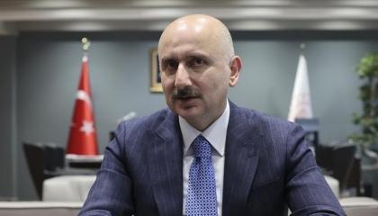 وزير النقل التركي: قناة إسطنبول الجديدة أكثر أمانًا 13 مرة من مضيق البوسفور